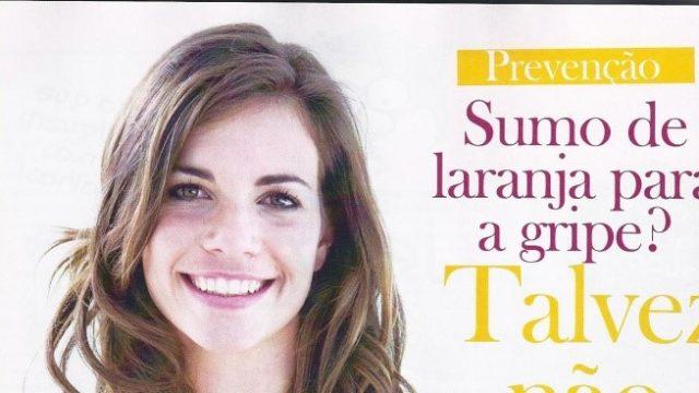 ARTIGO SUMO DE LARANJA PARA A GRIPE? TALVEZ NÃO!